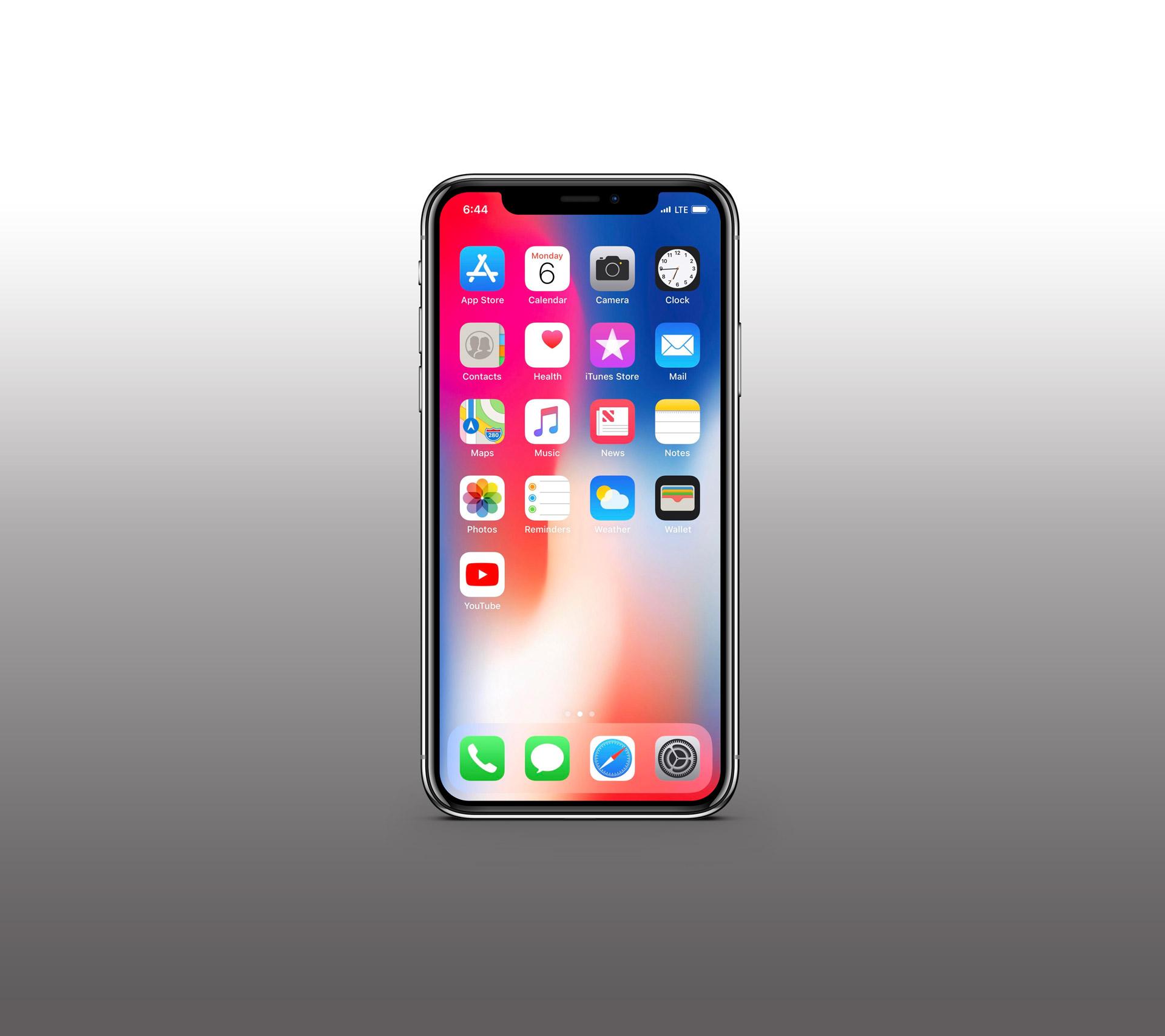 iphone x clean